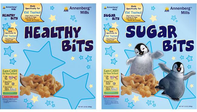 Cereales para niños