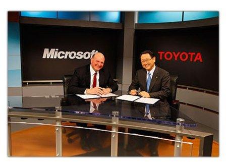 Microsoft y Toyota trabajan en la nube para comunicar coches, hogares y estaciones de carga