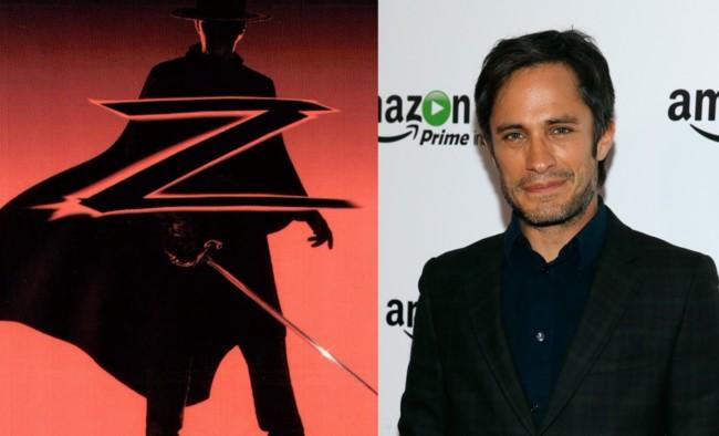 Gael Garcia Bernal es el nuevo Zorro