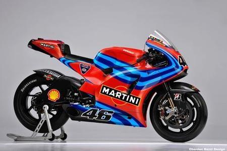 Ducati Martini para Valentino Rossi en 2011