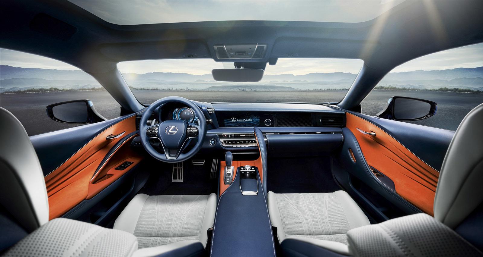 Foto de Lexus LC 500h (37/49)