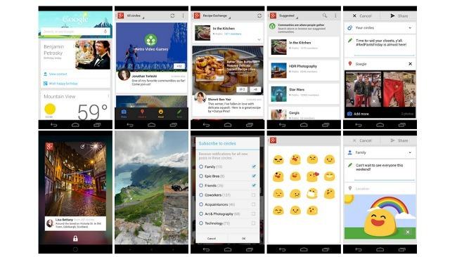 Google+ actualiza sus aplicaciones de Android y iOS incorporando gran cantidad de novedades