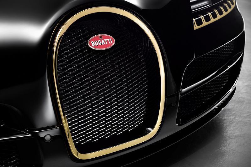"Foto de Bugatti Veyron ""Black Bess"" Legends Edition (6/17)"