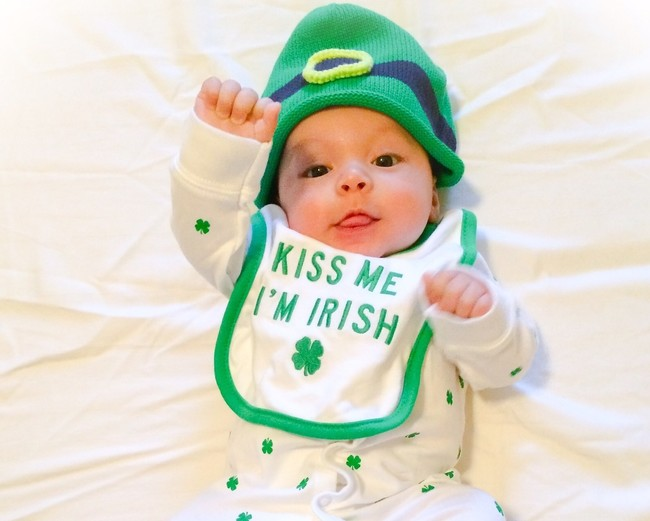43 nombres irlandeses de niña y niño para tu bebé