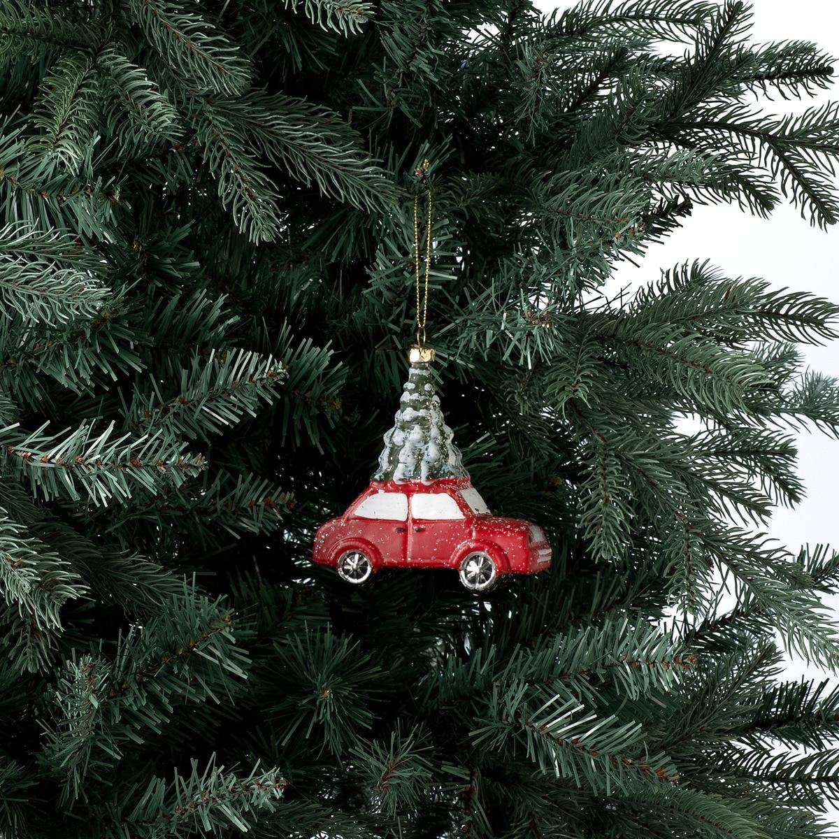 Colgante de coche con árbol de Navidad