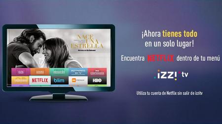 Netflix por fin llega al servicio de televisión de izzi en México
