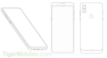 Patente Huawei Triple Camara Frontal