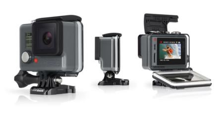 GoPro Hero+ LCD, gana una pantalla táctil y mantiene un precio bajo