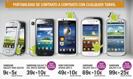 Precios Samsung Galaxy Ace 2 con Yoigo