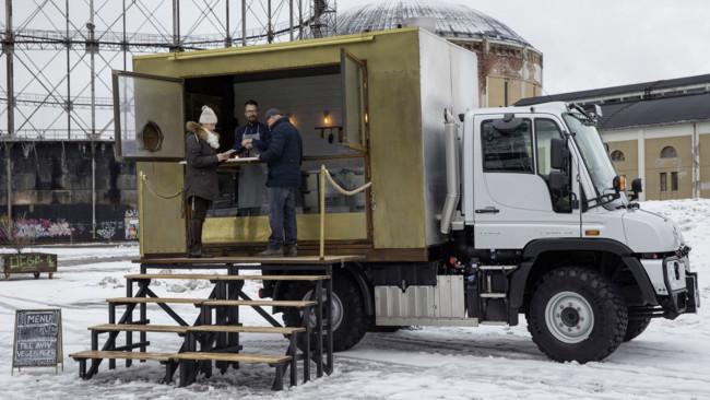 El Food Truck más 'cool' del mundo también es indestructible e imparable