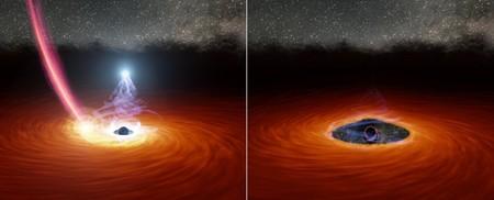 El día en que un agujero negro desapareció sin dejar rastro y, entonces, volvió a aparecer