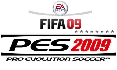 Duelo de titanes, 'Fifa 09' y 'PES 2009' tendrán demo el mismo día