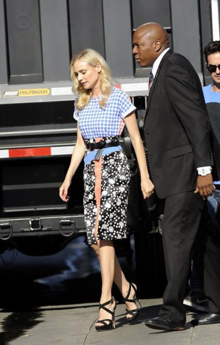 Diane Kruger Emanuel Ungaro look