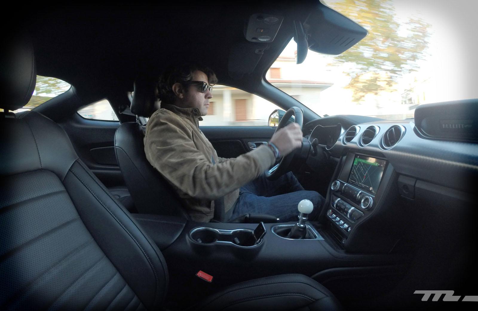Foto de Ford Mustang Bullitt (prueba) (14/45)