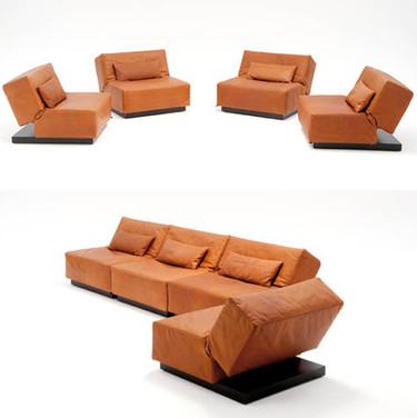 Tema, sofá convertible de grandes dimensiones