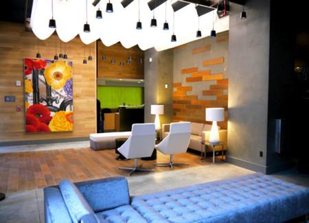 Cambria Hotel en Nueva York, diseño inspirado de su entorno