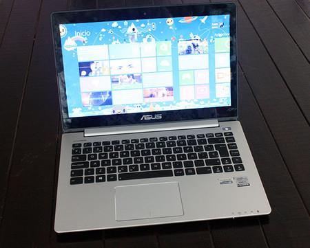ASUS VivoBook S400CA, vista general
