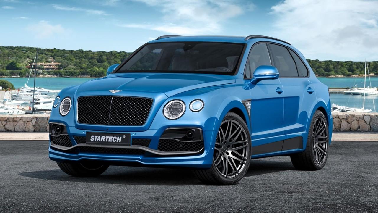 el suv de Bentley ya pasa por las manos de StarTech