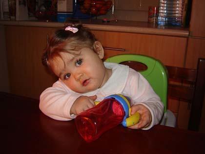 La foto de tu bebé: haciendo caritas