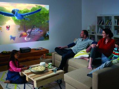 EL Philips Screeneo HDP1690TV demuestra el potencial de los proyectores de tiro corto
