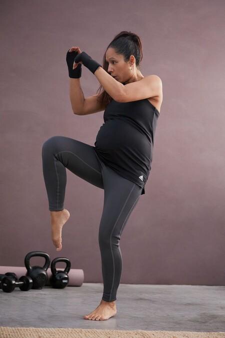 Adidas lanza su primera línea de prendas premamá para practicar deporte y mantenernos activas durante el embarazo