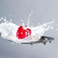 El escándalo de la leche china contaminada de melamina