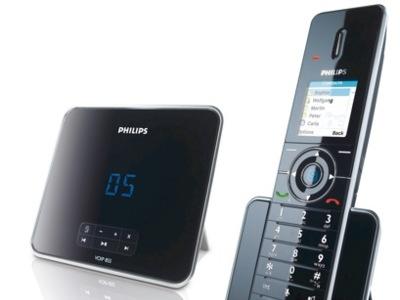 Philips VOIP855, teléfono DECT y para VoIP