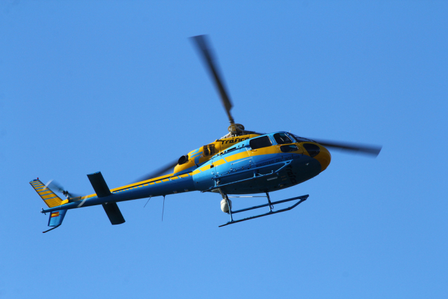 Helicóptero DGT