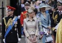El look de Sophie Rhys-Jones en la boda real del año