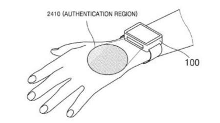 Samsung Snartwatch Vascular Scanner Patent