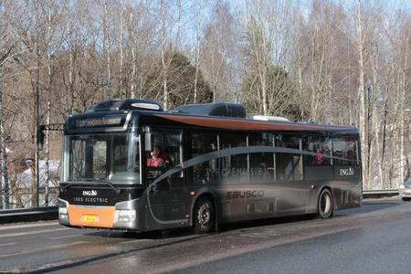 Finlandia pone a prueba al autobús eléctrico eBusco YTP-1