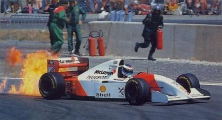Mclaren Peugeot F1 1994 Fire
