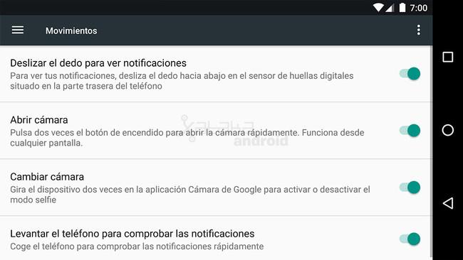 Nexus 6P Android™ 7.1.2