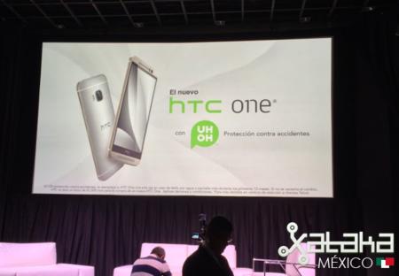 """El HTC One M9 llega a México con el servicio de protección """"Uh-oh"""""""