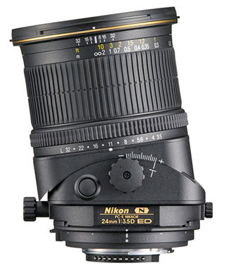 nikon tilt and shift