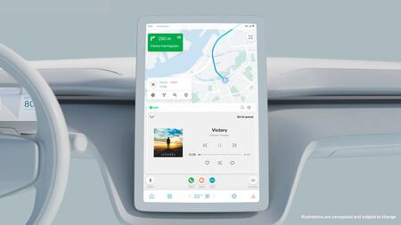 Los coches eléctricos de Volvo tendrán software propio y pantallas inteligentes