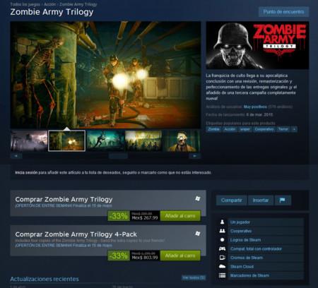 Zombie Army Trilogy Steam