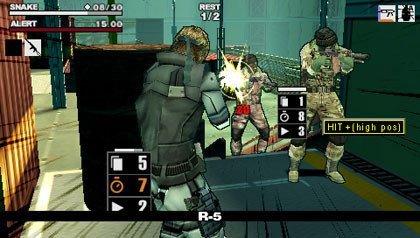 Metal Gear Acid 2 en imágenes