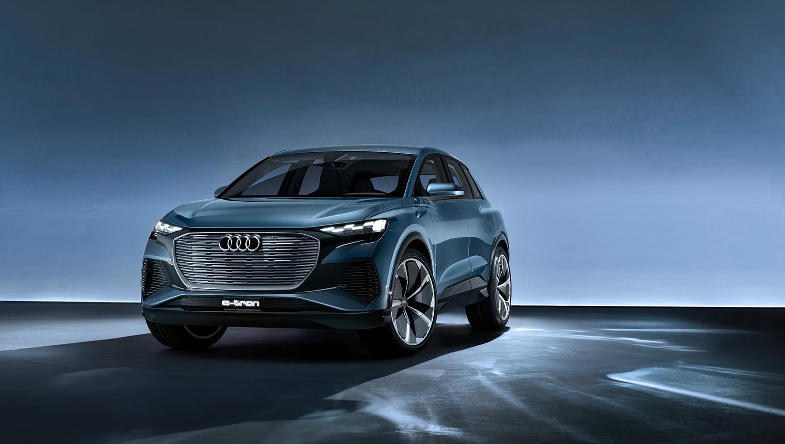 Foto de Audi Q4 e-tron concept (1/19)