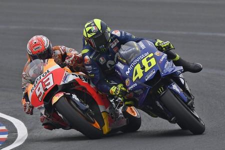 Marc Marquez Valentino Rossi Motogp Argentina 2018 1