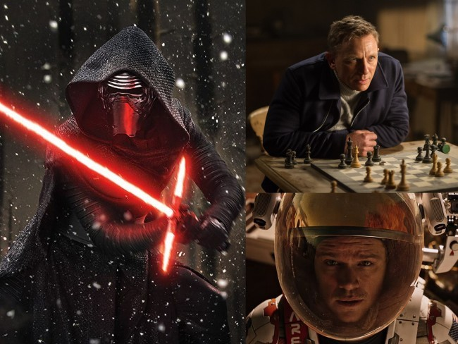 Star Wars 7, Spectre y Marte (The Martian)