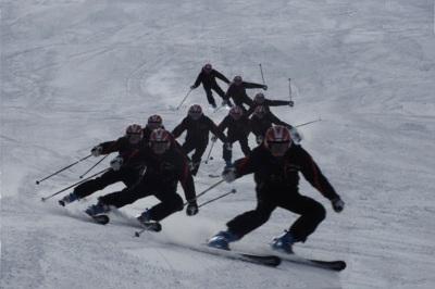 Los cascos salvan vidas a los esquiadores