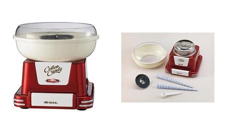 Por 38,99 euros tenemos la máquina de algodón de azúcar Ariete 2971 Party Time a la venta en Amazon