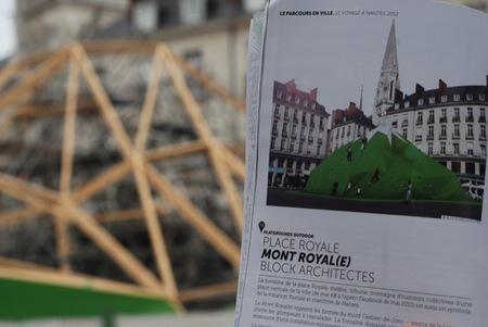 Le voyage à Nantes (el viaje a Nantes) es un recorrido urbano de 8,5 km que atrapará la atención de las familias