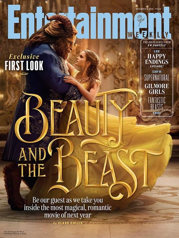 Foto de 'La bella y la bestia', imágenes oficiales con los protagonistas del remake de Disney (1/9)