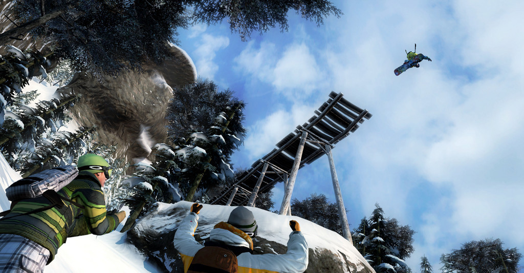 Foto de Imágenes de Shaun White Snowboarding (2/9)