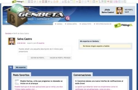 Genbeta actualiza el perfil de usuario y centra su diseño