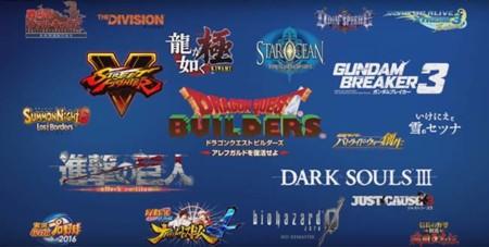 En Japón así se anuncian las exclusivas de PS4 para el 2016