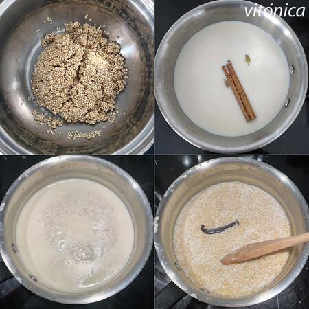 Porridge Quinoa Pasos