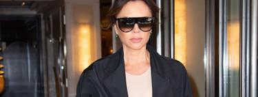 Este es el look más complicado que ha lucido Victoria Beckham en los últimos meses y aún así nos parece digno de admirar